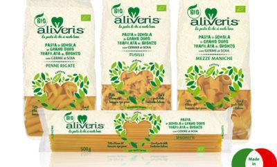 Aliveris: pasta di grano duro biologico e soia